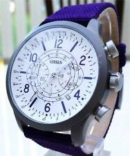 New VERSACE Watch Men's Chronograph Canvas Versus by Versace Collection Purple
