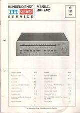 ITT GRAETZ - HIFI 2461 - Service Manual Schaltplan - B6507