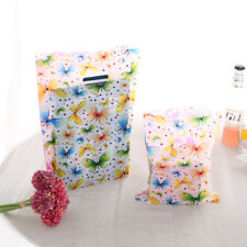 100pcs Butterfly Plastic Jewelry Gift Packing Bags Handbag Shopping For Jewelry