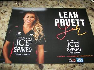 2021 Leah Pruett Sparkling Ice Spiked - NHRA  - One Race Only - Track Handout