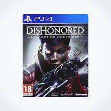 DISHONORED : La Mort de l�€™Outsider sur PS4 / Neuf / Sous Blister / Version FR