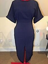ASOS | Kimono Sleeved Midi dress| Navy Blue | Sz 10