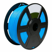 Sky Blue 3D Printer Filament 1kg/2.2lb 1.75mm PLA MakerBot RepRap