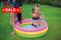 NEW Inflatable Pool Sunset Glow for Baby Children Kids Toddler Swimming Pools