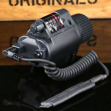 Red Laser Sight CREE LED Flashlight 176LM Tactical Combo for 20mm Rail Rifle