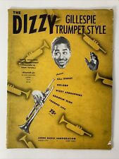 The DIZZY Gillespie Trumpet Style w/ Piano Accompaniment c.1946 Paparelli Music