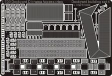Alliance Model Works 1:700 Dockyard Diorama Accessories Building Set 4 #NW70004