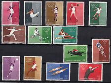 1960 di  FRANCOBOLLI SAN MARINO NUOVI GIOCHI OLIMPICI DI ROMA CON POSTA AEREA