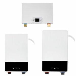 Elektrischer Klein Durchlauferhitzer Elektronisch 230V Mini Küche Untertisch