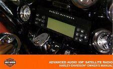 HARLEY-DAVIDSON XM SATELLITE RADIO MANUAL for HARMON ADVANCED AUDIO