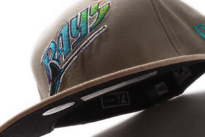 New Era Tampa Bay Rays MLB Beige Fitted Cap BB