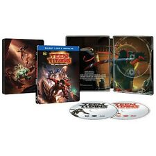 Teen Titans The Judas Contract Blu-Ray + Digital + DVD NEW STEELBOOK target