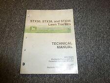 John Deere STX38 Lawn Tractor Service Repair Technical Shop Manual TM1561