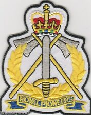 Royal Pioneers Corps British Army MOD Approved Military Embroidered Patch