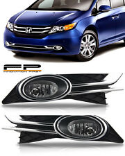 2014 2015 2016 2017 Honda Odyssey Fog Lights Driving Bumper Lamps Complete Kit