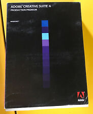 Adobe Creative Suite CS 4 Production Premium - Windows/PC Full Version Photoshop
