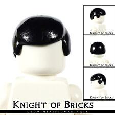 Lego Minifigure Hair BLACK 3901 Male Boy Cap Wigs Business Wig