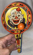 Vintage US Metal Toy Company Noise Maker - Clown