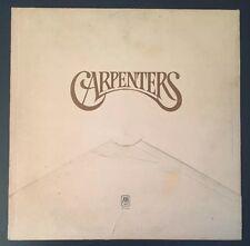 Carpenters  Carpenters LP Vinyl Records SP-3502 1971 Rock, Pop