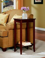 Small End Tables DHP Wood Tall Night Stand Table Lamp Living Room Bedroom Home