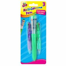 Tallon just stationery rétractable stylo-multi-couleur-pack de 3 stylos
