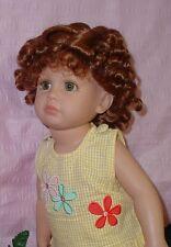 "Monique "" Josephine "" Doll Wig 10/11 fits Katie, Kidz N Katz, Synthetic Fiber"