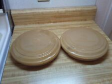 vintage Littonware divided plates for microwave