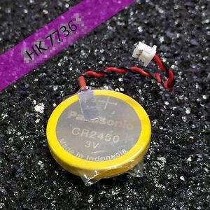 2pcs Panasonic CR2450 AFPX-BATT FP-X Series PLC Backup Button Battery 3V