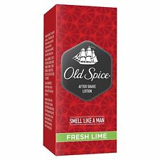 Old Spice After Shave Lotion - 150 ml (Fresh Lime) FREE SHIPPING WORLDWIDE