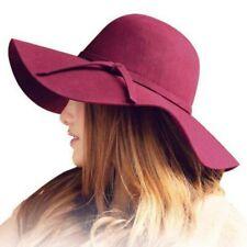 Fashion Fedoras Hats Wide Brim Vintage Women's Beach Sun Hat Winter Cap Gifts