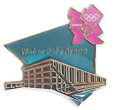 London 2012 Olympics Venue Water Polo Arena Pin