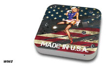 Skin Decal Wrap for Apple Mac Mini Desktop Computer Graphic Protector WW2