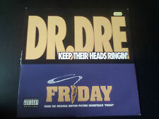 "Dr. Dre - Keep Their Heads Ringin' / Take A Hit (1995) 12"" Vinyl  Hip Hop Rap"