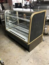 "60"" Curved Glass Dry Display Bakery Or Pastry Case"