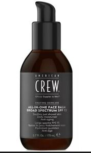 American Crew Shaving Skincare All-In-One Face Balm 5.7 Oz Broad Spectrum SPF 15