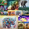 Elephant Animal Full Drill DIY 5D Diamond Embroidery Painting Craft Stitch Home