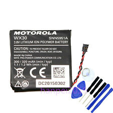 NEW OEM WX30 SNN5951A Replace Battery For Motorola Moto 360 1st-Gen Smart Watch
