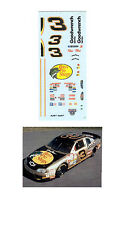 Dale Earnhardt #3 Bass Pro Shops Decal 1/64 scale AFX Autoworld Tyco Lifelike