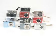 As Is Lot of 11 Canon Digital Cameras SX230 HS, SD780 IS, A800, and Many More