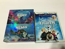 New ListingFinding Dory/ Finding Nemo Double Pack & Frozen Blu-Ray Lot