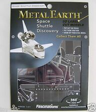 METAL EARTH - SPACE SHUTTLE DISCOVERY - 3D METAL MODEL KIT - BRAND NEW & SEALED!