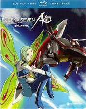 Eureka Seven: AO, Part 2 (Blu-ray/DVD, 2013, 4-Disc Set)