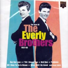 THE EVERLY BROTHERS - THE BEST OF 1957-60 (NEW SEALED CD)