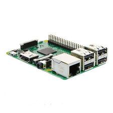 New Raspberry pi 3 model b board 1.2GHz 1GB RAM 64bit PU WiFi & Bluetooth LE