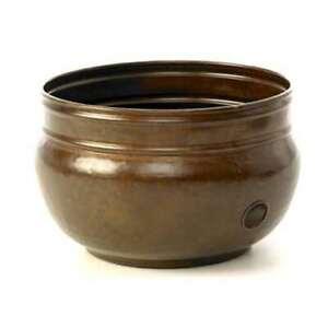 Liberty Garden Decorative Vintage Steel Rustic Garden Hose Pot (Open Box)