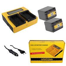 HC-V707M HDC-SD40EG-K HDC-SD66E 2x BATTERIA VHBW PER Panasonic HC-V707EG-S