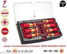 Juego 7 destornilladores aislados 1000V DOGHER TOOLS 360-002, Primeraocasion