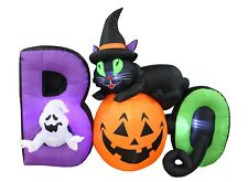 Halloween Inflatable Yard Party Air Blown Decoration BOO Scene Cat Pumpkin Ghost