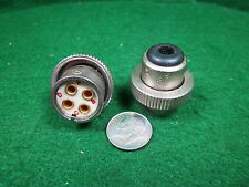 (1) ARC 16206 CONNECTOR 4 pin w/key Type 12 & 15 NOS