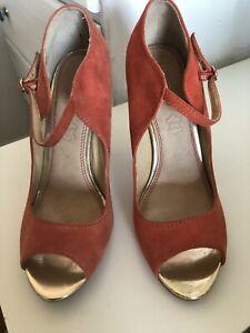 ALDO Leather High Heel Shoes. Size UK 5 / EU 38. Excellent Condition. RRP£75.00